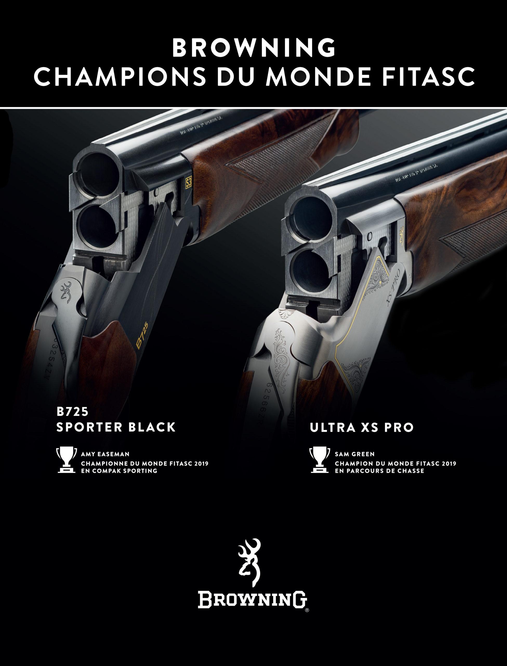 armes championnes du monde Fitasc
